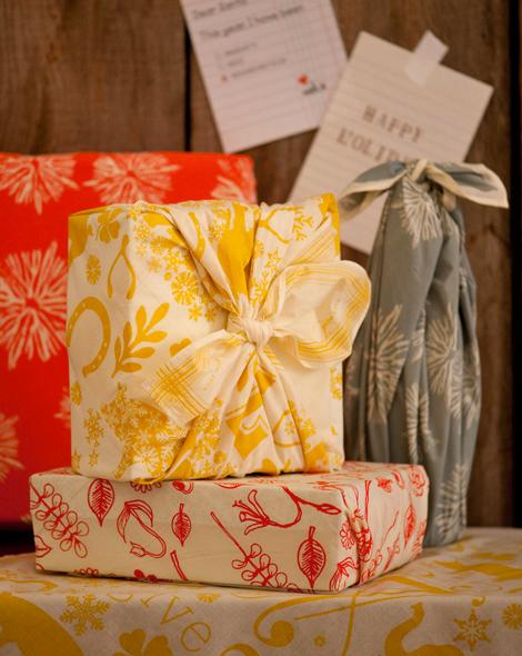 cadeaux tissu imprimé