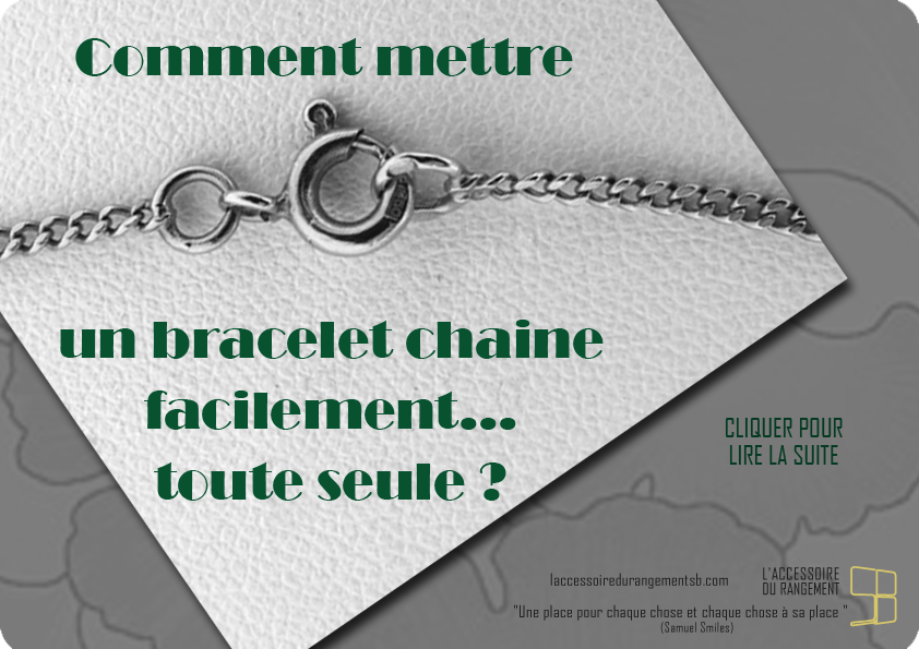 astuces_mettre un bracelet chaine toute seule3