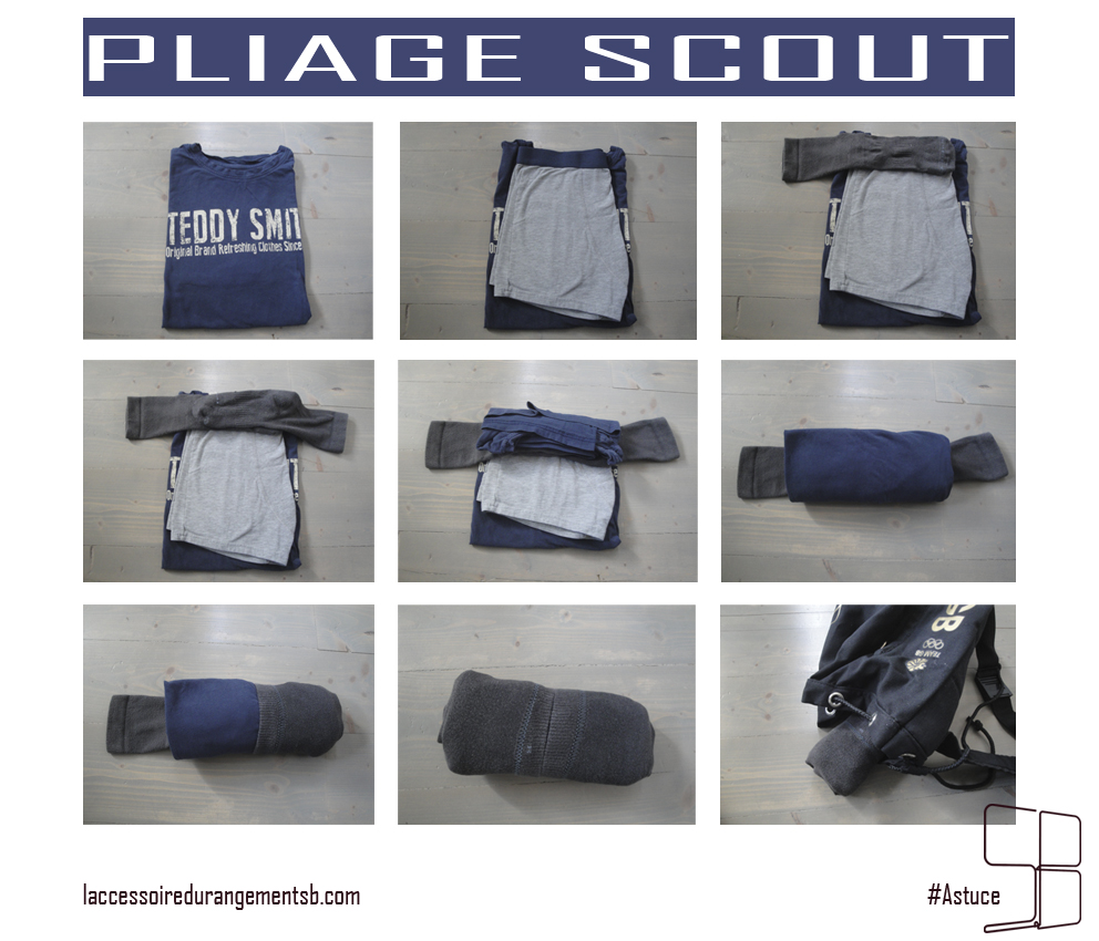 pliage scout