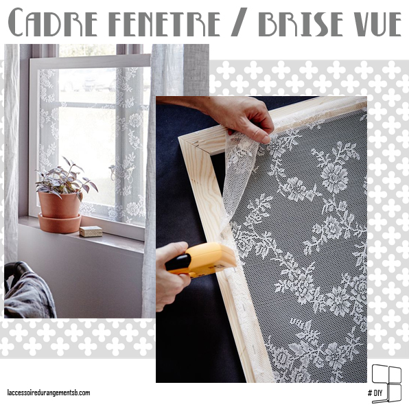 diy cadre fen tre brise vue l 39 accessoire du. Black Bedroom Furniture Sets. Home Design Ideas