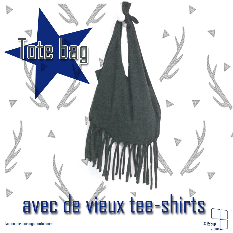 recup_tote bag avec vieux tee shirt