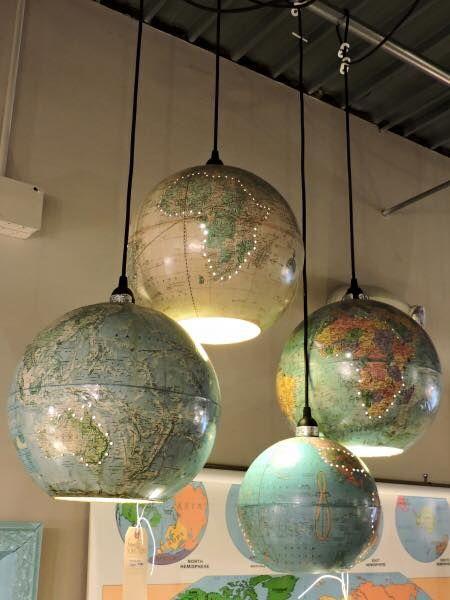 r cup luminaire globe terrestre l 39 accessoire du rangement blog sur l 39 organisation mais. Black Bedroom Furniture Sets. Home Design Ideas