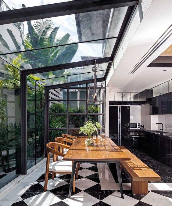 j table de cuisine sous veranda l 39 accessoire du rangement blog sur l 39 organisation. Black Bedroom Furniture Sets. Home Design Ideas